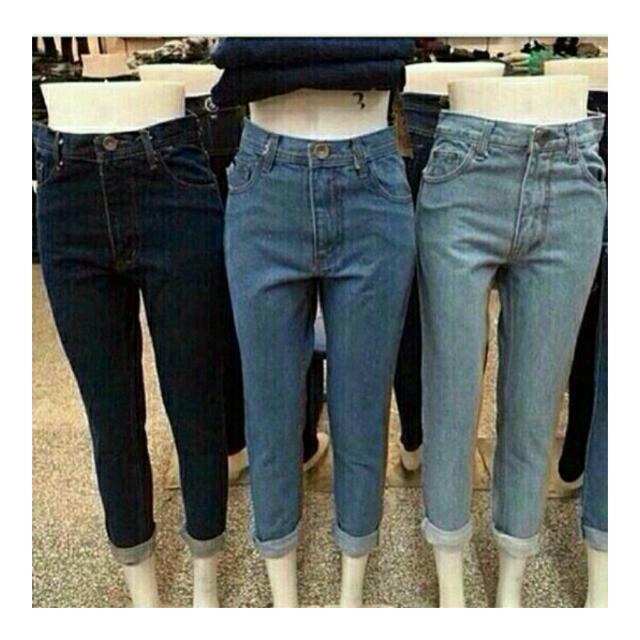 sebelum lebaran ayo beli boyfriend jeans