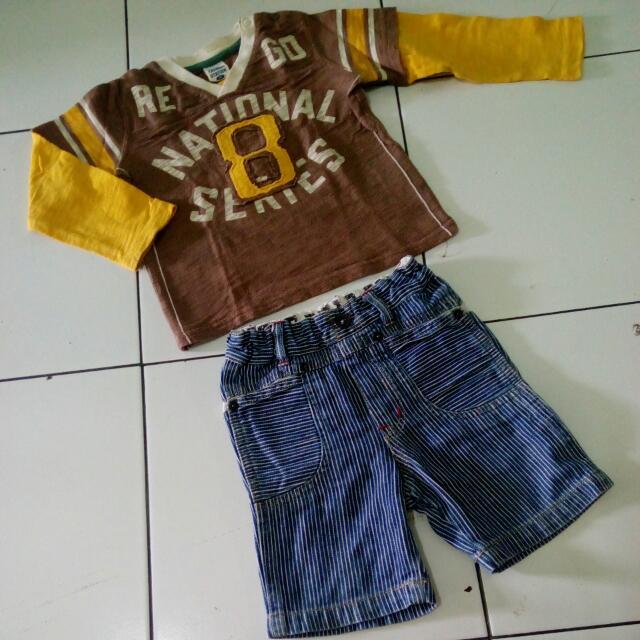 Set Atasan Dan Celana Import