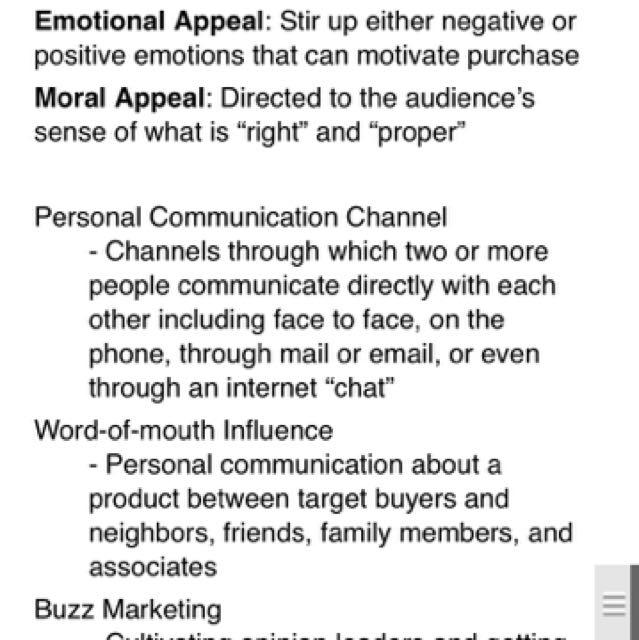 SIM RMIT MKTG1199 Principles Of Marketing Final Exam Notes