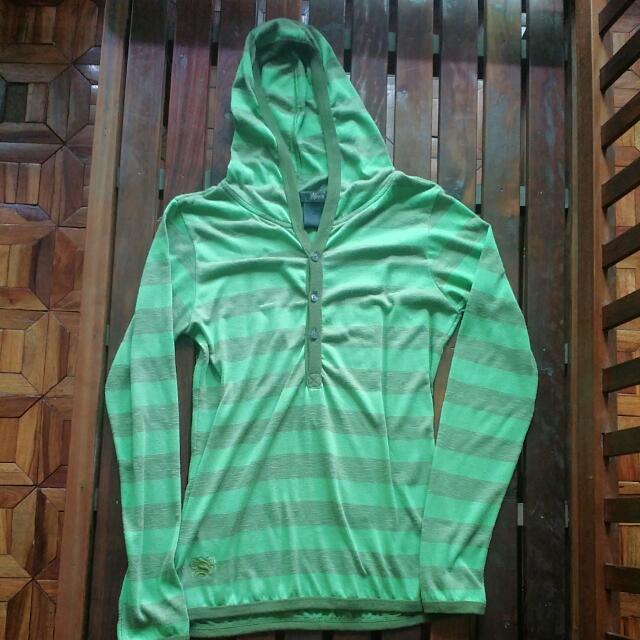 💖Solo Green Stripes Hoodie