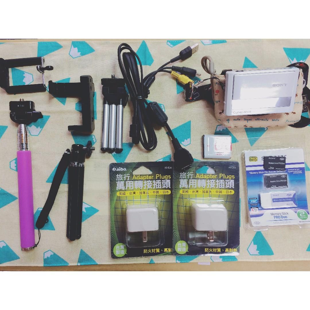 SONY T20 數位相機 附配件
