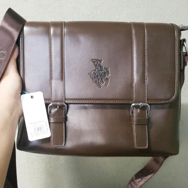 8e41059d744 ... buy popular c28fe 3eecf Swiss polo slingbag, Mens Fashion, Bags Wallets  on Carousel ...