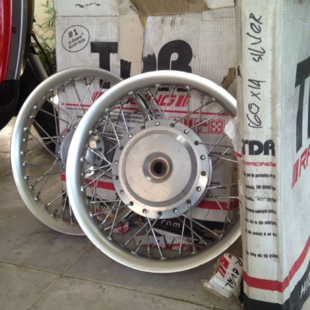TDR Racing 160x14 Silver