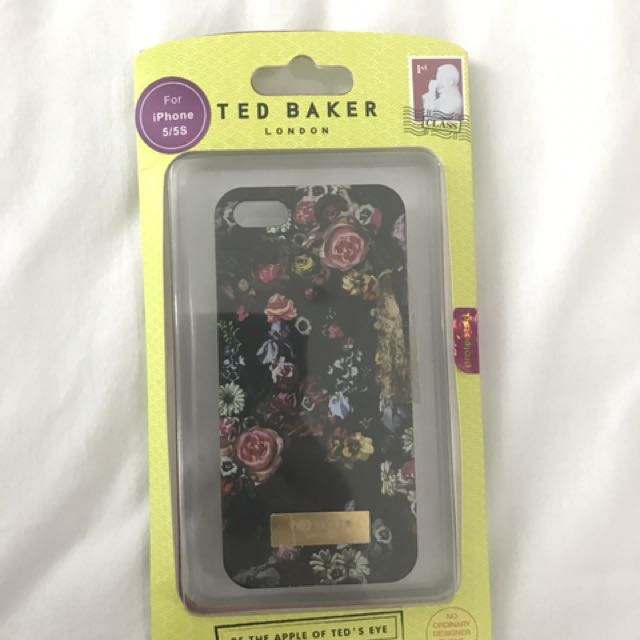 new arrival 58d59 3b917 Ted Baker iPhone 5/5S Case, Mobile Phones & Tablets, Mobile & Tablet ...