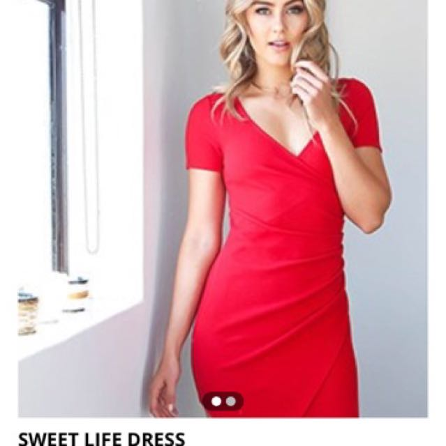 TigerMist Red Dress
