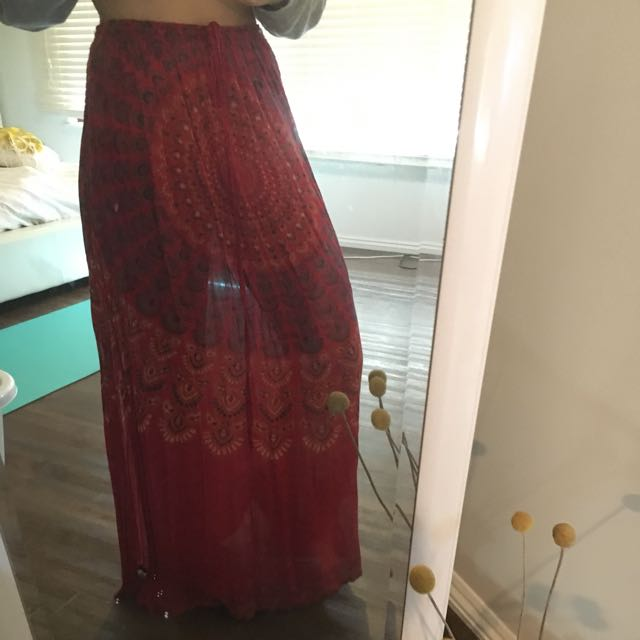 Tree Of Life Maxi Skirt