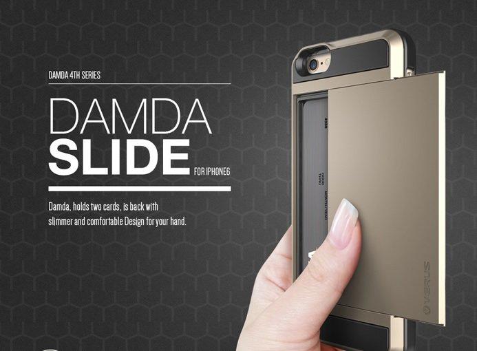 VERUS iPhone 6 plus 5.5 DAMDA SLIDE 可放悠遊卡 信用卡 雙層 APPLE