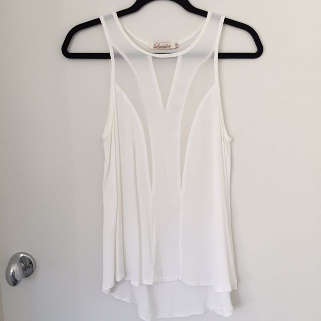 White Cami Top