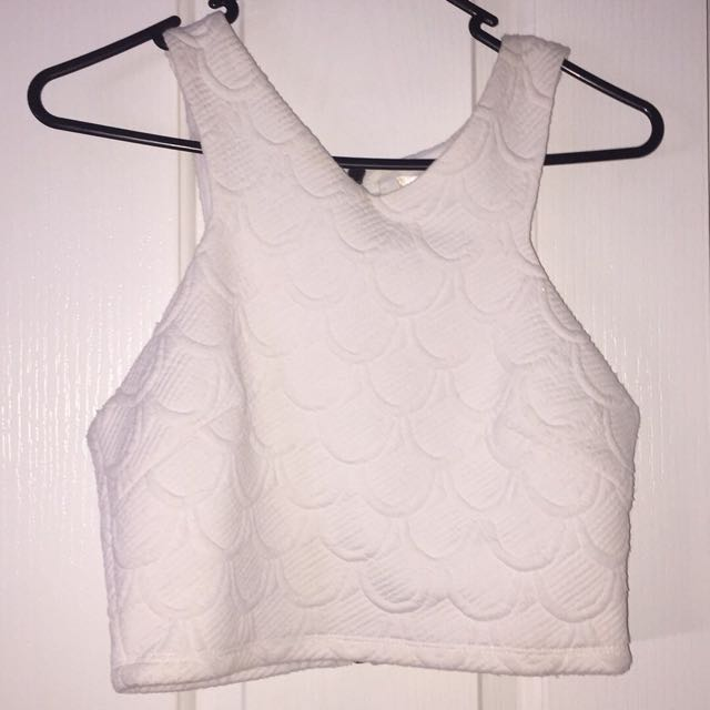 White Crop Top Brand New