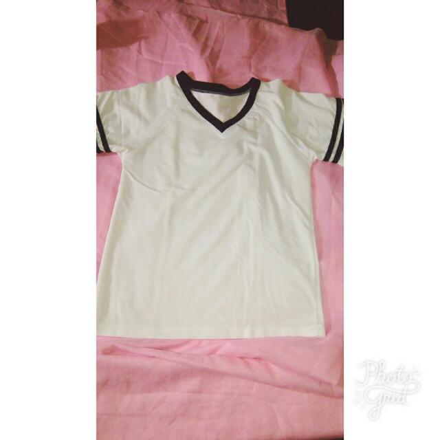 White Varsity Shirt