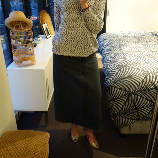 Workshop Denim Skirt (As New) - Perfect Condition / Size 10