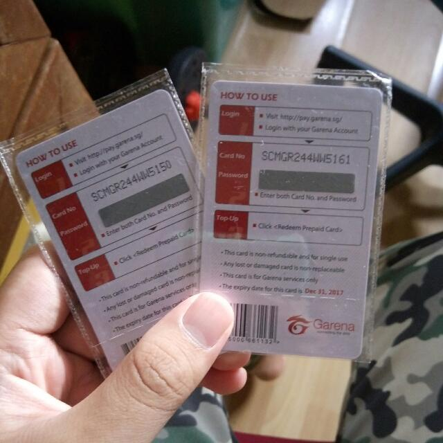 WTS Garena Shells, Entertainment, Gift Cards & Vouchers on