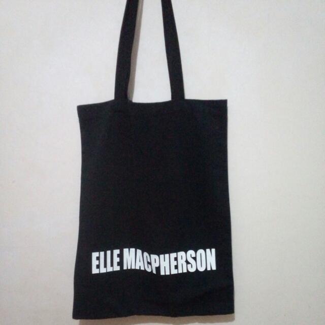 ZARA ELLE MACPHERSON TOTTE BAG