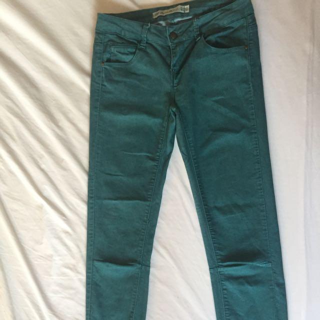 d800ca21 ZARA TRF denim pants, Women's Fashion, Clothes, Pants, Jeans ...