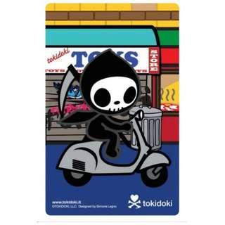 Tokidoki Ezlink Card - Adios X Scooter