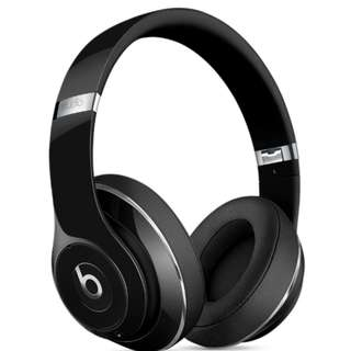 BEATS STUDIO WIRELESS OVER-EAR HEADPHONES - GLOSS BLACK Bluetooth iPhone Android