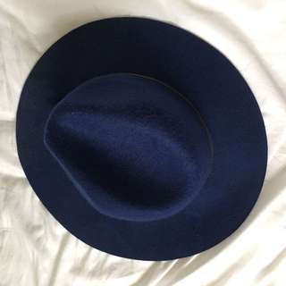 Urban Outfitter Blue Fedora