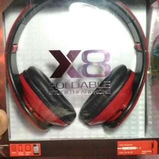 X8 Ovleng Studio Headphone Foldable