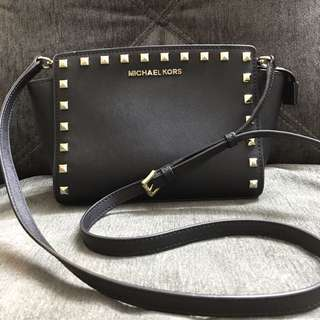 Authentic Studded Michael Kors Selma Bag