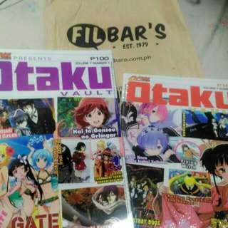 Otaku Anime Magazine Back Issues.