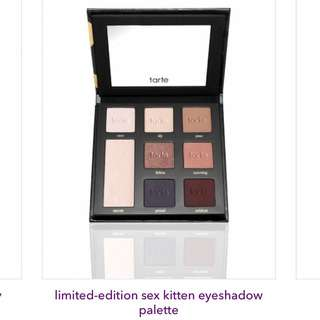 ⚡️FLASH SALE⚡️Tarte Sex Kitten Eyeshadow Palette