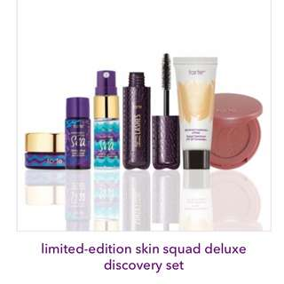 ⚡️FLASH SALE⚡️Tarte Skin Squad Deluxe Discovery Set