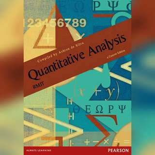 RMIT Quantitative Analysis Textbook