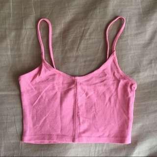 Pink Topshop Bralette