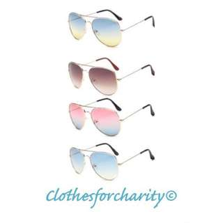 MORE COLOURS THAN SHOWN free Postage Women's Sunglasses $10.00 Each