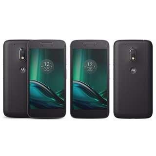 "Motorola Moto G4 Play XT1602 (4G/LTE, 16GB, 5"") - Black - Unlocked (AU STOCK)"