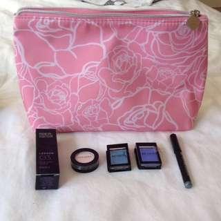 *REDUCED* Lancôme Makeup Bag + Makeup