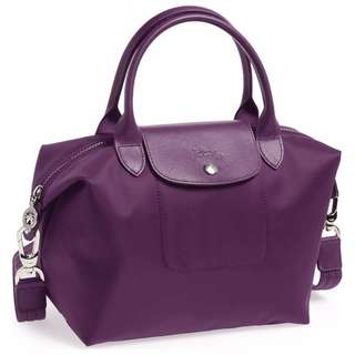 Longchamp Neo Small Bilberry Bag (Genuine, New and On Hand for Shipping)