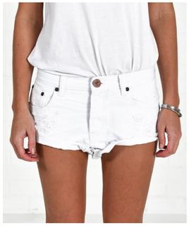 ONE TEASPOON white shorts