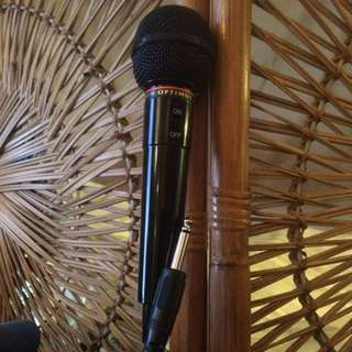 Optimus Unidirectional Dynamic Microphone