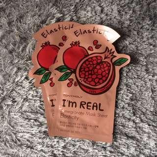 [TONYMOLY] I'm Real Pomegranate Mask Sheet