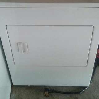 A Dryer In A Work Condition.