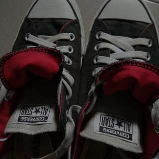 Converse As Double Tongue Ox Shoes