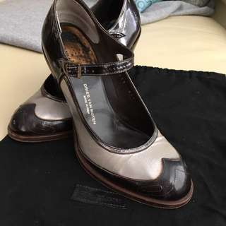Dries Van Notes Boroque Mary Jane Heels Sz 39