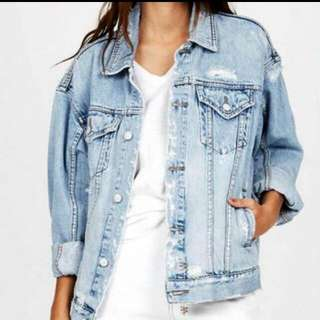 KSUBI oversize denim Jacket