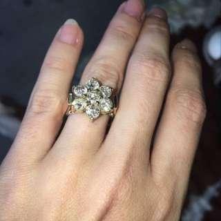 2.10ct Diamond Gold Ring