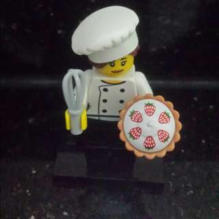Lego Series 17, The Gourmet Chef