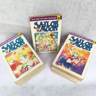 Komik SAILOR MOON 1-18 (Full Set, Full Cover)