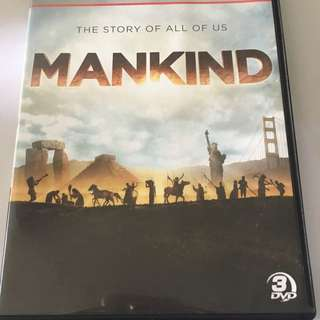 History channel Hit Documentary MANKIND THE STORY OF ALL OF US