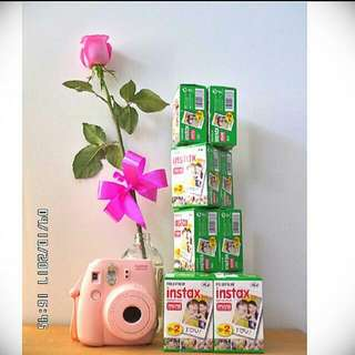 20 Sheets Fujifilm Instax Film
