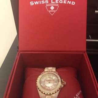 Swiss Legend Ceramic Peal Watch