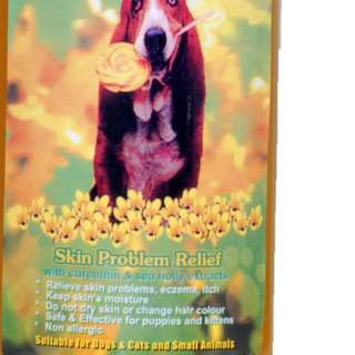 Roots All Natural Herbal - Skin Problem Relief Shampoo For Dogs/Cats