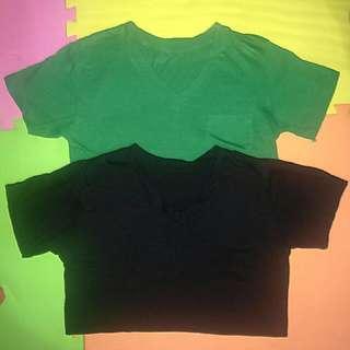 Plian Shirts (2pcs)