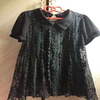 🚚 Queen Shop蕾絲襯衫