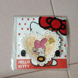 My Melody Drink Coaster