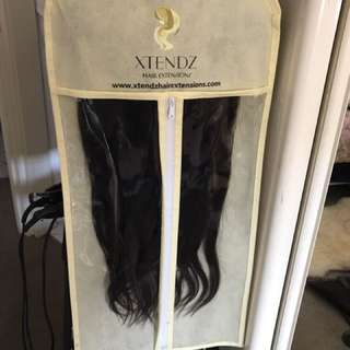 Xtendz Dark Brown Clip in Extensions